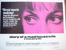 DIARY OF A MAD HOUSEWIFE 1970 NICE POSTER