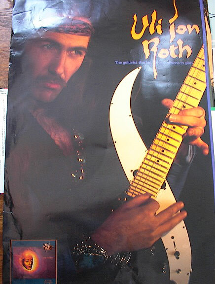 VLI JAN ROTH THE GUITAR THAT LED THE SCORPION