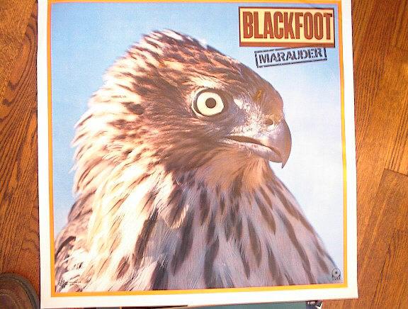 BLACKFOOT 'MARAUDER ALBUM POSTER V-NICE