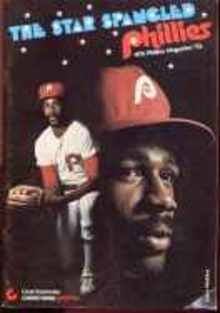 Star Spangled Phillies 1976 Mag Gary Maddox