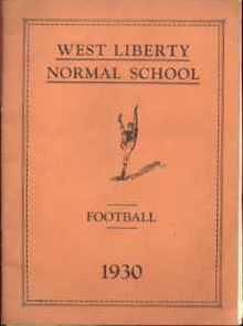 PA Normal School Football 1930 Program