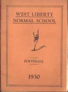 PA Normal School Football 1930 Program