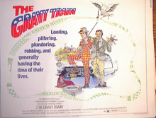 THE GRAVY TRAIN 1974 *ing STACY KEACH