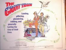 THE GRAVY TRAIN 1974 *ing STACY KEACH