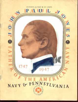 Navy vs Pennsylvania Oct 1947 John Paul Jones