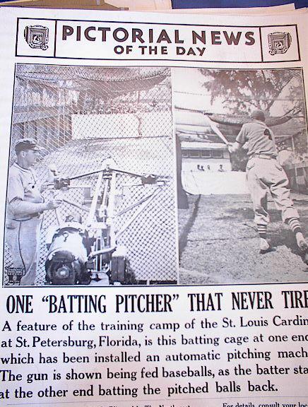 MARCH 1941 ST.LOUIS CARDNIALS TRAINING PHOTOS