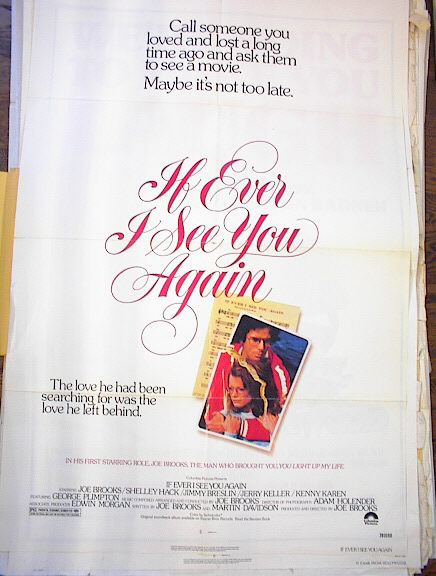 IF I EVER SEE YOU AGAIN 1978*ing SHELLEY HACK