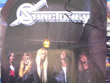 SANCTUARY POSTER OF THE BAND MEMBERS
