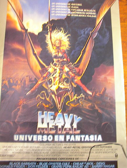 HEAVY METAL - ALL NAMES ARE IN SPANISH