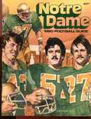 Notre Dame Football Media Guide 1980 Great