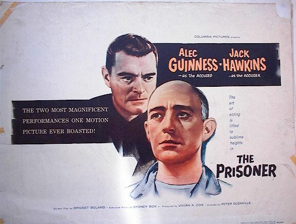 THE PRISONER 1955 *ing ALEC GUINNESS