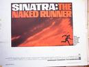 SINATRA:THE NAKED RUNNER 1967 NICE POSTER
