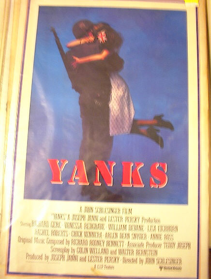 YANKS STARRING RICHARD GERE/VANESSA REDGRAVE