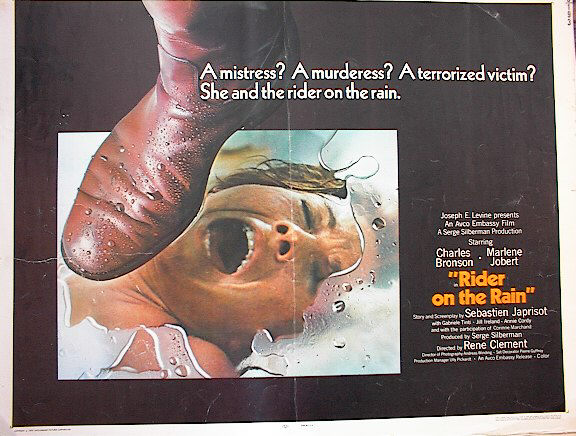 RIDER ON THE RAIN 1970*ing CHARLES BRONSON