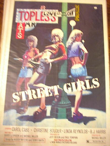 STREET GIRLS 1975 *ing CAROL CASE