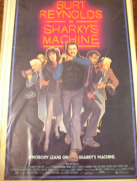 SHARKY'S MACHINE 1981 *ing BURT REYNOLDS