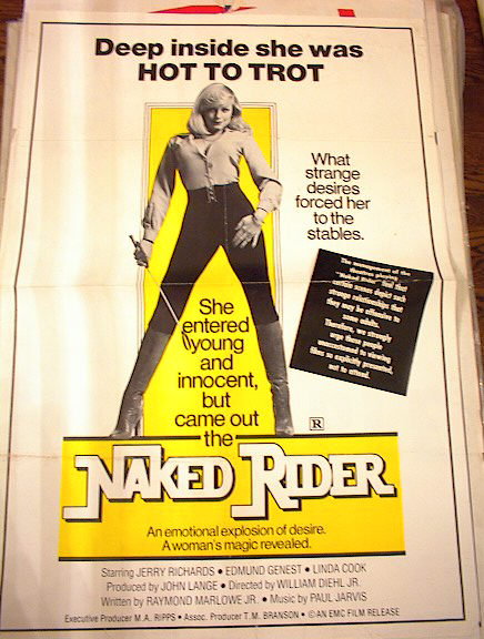 NAKED RIDER *ing JERRY RICHARDS & LINDA COOK