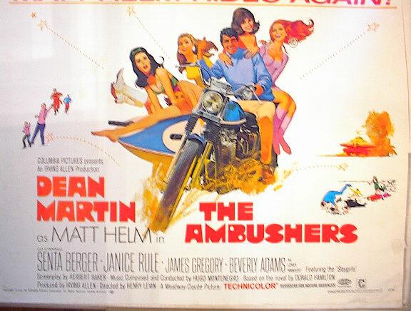 THE AMBUSHERS 1967 *ing DEAN MARTIN