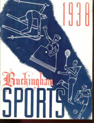 1938 Buckingham Sports Equipment Catalog