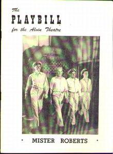 PLAYBILL 1949 HENRY FONDA Mr Roberts