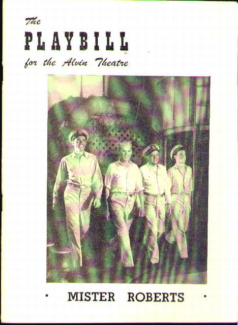 PLAYBILL 1949 HENRY FONDA Mr Roberts