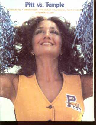 PITTvsTEMPLE Cheerleader Day DAN MARINO 1980
