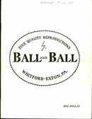 Ball & Ball Decorative Reproductions 1969