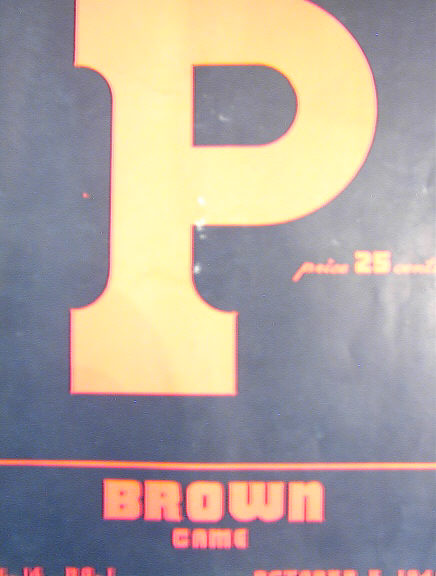 ATHLETIC NEWS 'P'BROWN GAME vol.14 OCT 5,1946