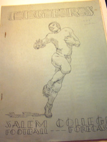 Salem College Tigers Football Forecast 1948