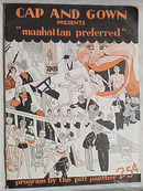 Cap & Gown Program 1930 Manhattan Preferred