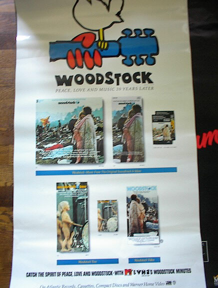 WOODSTOCK SOUNDTRACK POSTER MTv   TAKE A L@@K