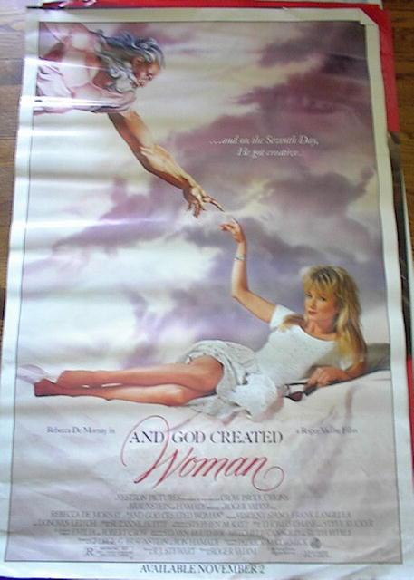 1987 AND GOD CREATED WOMAN/REBECCA DE MORNAY