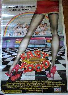 1989 FAST FOOD *ing CLARK BRANDON&TRACI LORDS