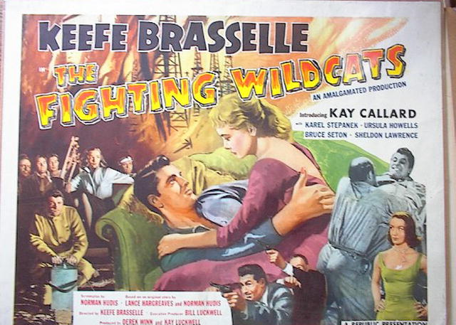 THE FRIGHTING WILDCATS 1957*ing KAY CALLARD