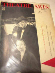 2/1956 ISSUE THEATRE ARTS -- THE TENDER TRAP