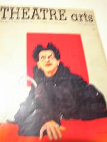 NOV 1950 ISSUE THEATRE ARTS'BORIS KARLOFF COV