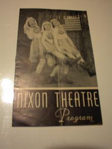 1/22/1915 NIXON THEATRE PROGRAM      LO@@K