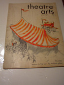 JUNE 1951 THEATRE ARTS MAGAZINE NICE COVER