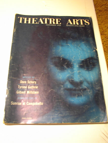 NOVEMBER 1959 THEATRE ARTS MAGAZINE