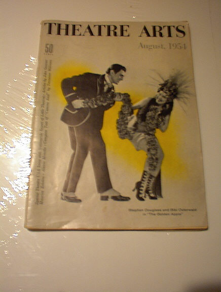AUGUST 1954 THEATRE ARTS MAGAZINE