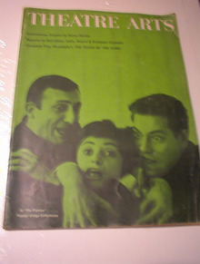 APRIL 1961 ISSUE THEATRE ARTS MAGAZINE