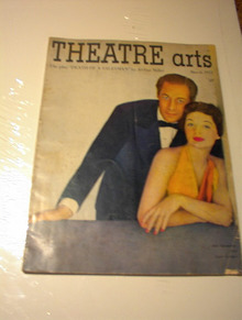 MARCH 1951 ISSUE THEATRE ARTS MAGAZINE