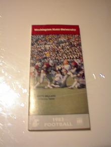 1983 WASHINGTON STATE GUIDE KEITH MILLARD COV