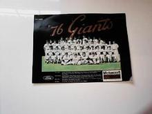 1976 GIANTS TEAM PHOTO NAMES             L@@K