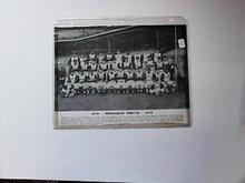 1970 B/W PHOTO OF THE PITTSBURGH PIRATES
