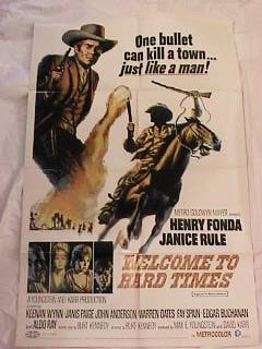 1967 WELCOM TO HARD TIMES *ing HENRY FONDA