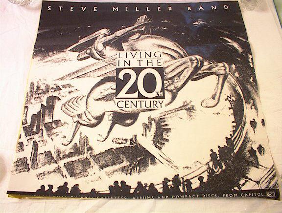STEVE MILLER BAND LIVING IN THE 20tH CENTURY