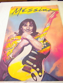 1981 MESSINA ALBUM POSTER          GREAT L@@K