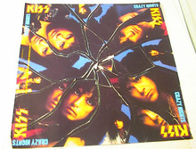 KISS CRAZY KNIGHTS ALBUM POSTER   GREAT  L@@K