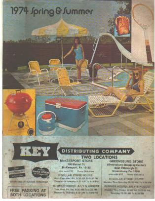 1974 Spring & Summer Items - Key Distributing